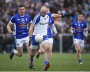 12 February 2017; Gavin Doogan of Monaghan in action during the Allianz Football League Division 1 Round 2 game between Monaghan and Cavan at St. Mary's Park in Castleblayney, Co. Monaghan. Photo by Philip Fitzpatrick/Sportsfile