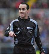 12 February 2017; Referee David Goldrick during the Allianz Football League Division 1 Round 2 game between Monaghan and Cavan at St. Mary's Park in Castleblayney, Co. Monaghan. Photo by Philip Fitzpatrick/Sportsfile