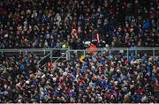 12 February 2017; A general view of the crowd at St. Mary's park during the Allianz Football League Division 1 Round 2 game between Monaghan and Cavan at St. Mary's Park in Castleblayney, Co. Monaghan. Photo by Philip Fitzpatrick/Sportsfile