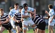 13 February 2017; Cian Reilly of Blackrock College in action against Harry O'Neill of Terenure College during the Blackrock College and Terenure College Bank of Ireland Leinster Schools Senior Cup second round match at Donnybrook Stadium, Donnybrook, in Dublin. Photo by David Maher/Sportsfile