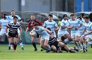 13 February 2017; Alan Francis of Blackrock College is tackled by Jack Cooke of Terenure College during the Blackrock College and Terenure College Bank of Ireland Leinster Schools Senior Cup second round match at Donnybrook Stadium, Donnybrook, in Dublin. Photo by David Maher/Sportsfile