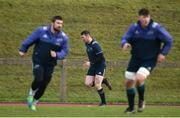 13 February 2017; Peter O'Mahony of Munster trains separate from team-mates during squad training at the University of Limerick, in Limerick. Photo by Diarmuid Greene/Sportsfile