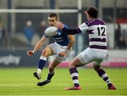 14 February 2017; Craig Kennedy of St Mary's College in action against Ben O'Shea of Clongowes Wood College during the Bank of Ireland Leinster Schools Senior Cup second round match between Clongowes Wood College and St Mary's College at Donnybrook Stadium in Donnybrook, Dublin. Photo by Daire Brennan/Sportsfile