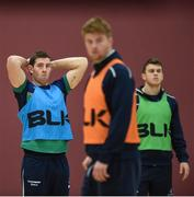 14 February 2017; Craig Ronaldson of Connacht during squad training at the Kingfisher Gym in Galway. Photo by Diarmuid Greene/Sportsfile