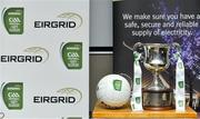 14 February 2017; The Clarke Cup at the launch of the 2017 EirGrid GAA Football Under 21 All-Ireland Championship. EirGrid, the state-owned company that manages and develops Ireland's electricity grid, enters its third year of sponsorship of this competition. It has a programme of activity, including the introduction of the EirGrid player of the provincial championship, planned to promote the Championship and recognise the talent on display at this grade. #EirGridGAA Photo by Brendan Moran/Sportsfile