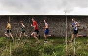 15 February 2017; A general view during the Intermediate Boys 4500m final during the Irish Life Health Leinster Schools Cross Country at Santry Demesne in Santry, Co Dublin. Photo by David Maher/Sportsfile