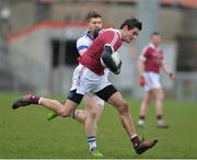 11 February 2017; Christopher McKaigue of Slaughtneil during the AIB GAA Football All-Ireland Senior Club Championship semi-final match between Slaughtneil and St Vincent's at Páirc Esler in Newry. Photo by Oliver McVeigh/Sportsfile