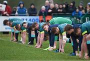 17 February 2017; Garry Ringrose of Ireland during an open training session at the Monaghan RFC grounds in Co. Monaghan. Photo by Seb Daly/Sportsfile