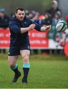 17 February 2017; Cian Healy of Ireland during an open training session at the Monaghan RFC grounds in Co. Monaghan. Photo by Seb Daly/Sportsfile