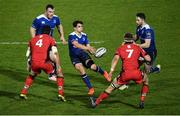 17 February 2017; Joey Carbery of Leinster during the Guinness PRO12 Round 15 match between Leinster and Edinburgh at the RDS Arena in Ballsbridge, Dublin. Photo by Ramsey Cardy/Sportsfile