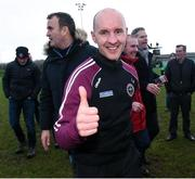 18 February 2017; Manager of St. Mary's University Belfast Paddy Tally after the Independent.ie HE GAA Sigerson Cup Final match between University College Dublin and St. Mary's University Belfast at the Connacht GAA Centre in Bekan, Co. Mayo. Photo by Matt Browne/Sportsfile