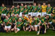 18 February 2017; Carrickshock players celebrate with the cup after the AIB GAA Hurling All-Ireland Intermediate Club Championship final match between Ahascragh - Foghenach and Carrickshock at Croke Park in Dublin. Photo by Piaras Ó Mídheach/Sportsfile