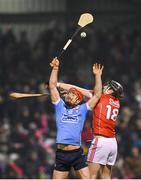 18 February 2017; Ryan O'Dwyer of Dublin in action against Damien Cahalane of Cork during the Allianz Hurling League Division 1A Round 2 match between Cork and Dublin at Páirc Uí Rinn in Cork. Photo by Stephen McCarthy/Sportsfile