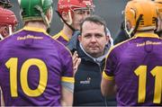 19 February 2017; Wexford manager Davy Fitzgerald before the start of the Allianz Hurling League Division 1B Round 2 match between Galway and Wexford at Pearse Stadium in Galway. Photo by David Maher/Sportsfile