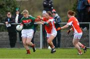 19 January 2017; Cora Staunton of Mayo in action against Sharon Reel of Armagh during the Lidl Ladies Football National League round 3 match between Armagh and Mayo at Clonmore in Armagh. Photo by Oliver McVeigh/Sportsfile