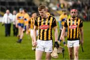 19 February 2017; Sean Morrissey, left, and James Maher of Kilkenny leave the pitch after defeat to Clare in the Allianz Hurling League Division 1A Round 2 match between Clare and Kilkenny at Cusack Park in Ennis. Photo by Diarmuid Greene/Sportsfile