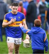 19 February 2017; Joe O'Dwyer of Tipperary is congratulated following the Allianz Hurling League Division 1A Round 2 match between Waterford and Tipperary at Walsh Park in Waterford. Photo by Stephen McCarthy/Sportsfile