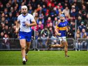 19 January 2017; John McGrath of Tipperary celebrates after scoring his side's goal during the Allianz Hurling League Division 1A Round 2 match between Waterford and Tipperary at Walsh Park in Waterford. Photo by Stephen McCarthy/Sportsfile