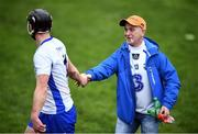 19 January 2017; A Waterford supporter shakes hands with Pauric Mahony following the Allianz Hurling League Division 1A Round 2 match between Waterford and Tipperary at Walsh Park in Waterford. Photo by Stephen McCarthy/Sportsfile