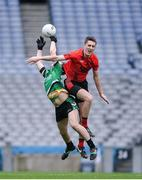 19 January 2017; Dylan Reid of Rock St Patrick's in action against Colin McGillycuddy of Glenbeigh-Glencar during the AIB GAA Football All-Ireland Junior club championship final match between Rock St. Patrick's and Glenbeigh-Glencar and at Croke Park in Dublin. Photo by Eóin Noonan/Sportsfile