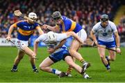 19 February 2017; Shane McNulty of Waterford in action against Kieran Bergin of Tipperary during the Allianz Hurling League Division 1A Round 2 match between Waterford and Tipperary at Walsh Park in Waterford. Photo by Stephen McCarthy/Sportsfile