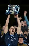 19 January 2017; St. Patrick's Westport captain Brian McDermott lifts the cup after the AIB GAA Football All-Ireland Intermediate club championship final match between St. Colmcille's and St. Patrick's Westport at Croke Park in Dublin. Photo by Piaras Ó Mídheach/Sportsfile