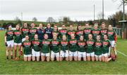 19 February 2017; The Mayo squad before the Lidl Ladies Football National League round 3 match between Armagh and Mayo at Clonmore in Armagh. Photo by Oliver McVeigh/Sportsfile