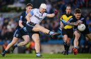 19 February 2017; Niall Ronan of St Colmcille's in action against Phil Keegan of St. Patrick's Westport during the AIB GAA Football All-Ireland Intermediate club championship final match between St. Colmcille's and St. Patrick's Westport at Croke Park in Dublin. Photo by Eóin Noonan/Sportsfile