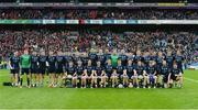 19 February 2017; The St. Patrick's Westport squad before the AIB GAA Football All-Ireland Intermediate club championship final match between St. Colmcille's and St. Patrick's Westport at Croke Park in Dublin. Photo by Piaras Ó Mídheach/Sportsfile