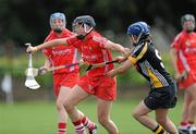 23 July 2011; Gemma O'Connor, Cork, in action against Ann Dalton, Kilkenny. All-Ireland Senior Camogie Championship in association with RTÉ Sport, Kilkenny v Cork, Jenkinstown, Co. Kilkenny. Picture credit: Matt Browne / SPORTSFILE