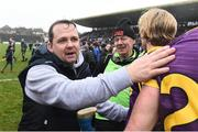 19 February 2017; Wexford manager Davy Fitzgerald manager after the Allianz Hurling League Division 1B Round 2 match between Galway and Wexford at Pearse Stadium in Galway. Photo by David Maher/Sportsfile