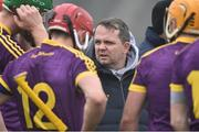 19 February 2017; Wexford manager Davy Fitzgerald prior to the Allianz Hurling League Division 1B Round 2 match between Galway and Wexford at Pearse Stadium in Galway. Photo by David Maher/Sportsfile