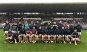 19 February 2017; The Wexford squad before the start of the Allianz Hurling League Division 1B Round 2 match between Galway and Wexford at Pearse Stadium in Galway. Photo by David Maher/Sportsfile