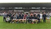 19 February 2017; The Galway squad before the start of the Allianz Hurling League Division 1B Round 2 match between Galway and Wexford at Pearse Stadium in Galway. Photo by David Maher/Sportsfile