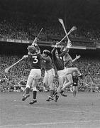 7 September 1980; A general view of the action during the All Ireland Hurling Final, Galway v Limerick, Croke Park, Dublin. Photo by Ray McManus/Sportsfile