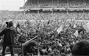 7 September 1980; Galway supporters on the field after the All Ireland Hurling Final, Galway v Limerick, Croke Park, Dublin. Photo by Ray McManus/Sportsfile