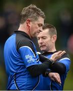 24 February 2017; Referee Barry Kelly checks his ear after picking up a blood injury in the second half during the Independent.ie HE GAA Fitzgibbon Cup semi-final meeting of IT Carlow and University College Cork at Dangan, in Galway. Photo by Piaras Ó Mídheach/Sportsfile