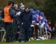 24 February 2017; Limerick IT manager Davy Fitzgerald reacts during the Independent.ie HE GAA Fitzgibbon Cup semi-final meeting between Mary Immaculate College Limerick and Limerick IT at Dangan, in Galway. Photo by Piaras Ó Mídheach/Sportsfile
