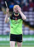 25 February 2017; Jack Fagan of IT Carlow after the Independent.ie HE GAA Fitzgibbon Cup Final match between IT Carlow and Mary Immaculate College Limerick at Pearse Stadium in Galway. Photo by Matt Browne/Sportsfile
