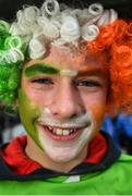 25 February 2017; Ireland supporter Padraig Kinsella from Gorey, Co. Wexford  prior to the RBS Six Nations Rugby Championship game between Ireland and France at the Aviva Stadium in Lansdowne Road, Dublin. Photo by Stephen McCarthy/Sportsfile