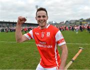 25 February 2017; Darragh O'Connell of Cuala celebrates after the game in the AIB GAA Hurling All-Ireland Senior Club Championship Semi-Final match between Cuala and Slaughtneil at the Athletic Grounds in Armagh. Photo by Oliver McVeigh/Sportsfile