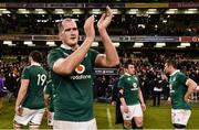 25 February 2017; Devin Toner of Ireland after the RBS Six Nations Rugby Championship game between Ireland and France at the Aviva Stadium in Lansdowne Road, Dublin. Photo by Brendan Moran/Sportsfile