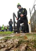 26 February 2017; Donegal manager Rory Gallagher before the Allianz Football League Division 1 Round 3 match between Donegal and Dublin at MacCumhaill Park in Ballybofey, Co Donegal. Photo by Stephen McCarthy/Sportsfile