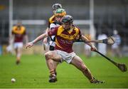 26 February 2017; Mickey Butler of Kilkenny CBS in action against Evan Shefflin of St Kieran's College during the Top Oil Leinster Colleges senior hurling championship final between St Kieran's and Kilkenny CBS at Nowlan Park in Kilkenny. Photo by Seb Daly/Sportsfile