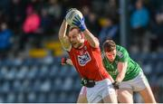 26 February 2017; Brian O'Driscoll of Cork in action against Eóin Donnelly of Fermanagh during the Allianz Football League Division 2 Round 3 match between Cork and Fermanagh at Páirc Uí Rinn in Cork. Photo by Piaras Ó Mídheach/Sportsfile
