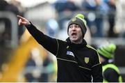26 February 2017; Donegal manager Rory Gallagher during the Allianz Football League Division 1 Round 3 match between Donegal and Dublin at MacCumhaill Park in Ballybofey, Co. Donegal. Photo by Philip Fitzpatrick/Sportsfile