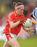 1 August 2011; Aine Cott, Cork. All Ireland Minor A Championship Final, Dublin v Cork, Birr, Co. Offaly. Picture credit: Paul Mohan / SPORTSFILE