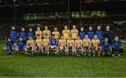 25 February 2017; The Roscommon squad prior to the Allianz Football League Division 1 Round 3 match between Mayo and Roscommon at Elverys MacHale Park in Castlebar, Co Mayo. Photo by Seb Daly/Sportsfile