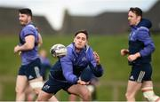 27 February 2017; Te Aihe Toma of Munster during squad training at the University of Limerick in Limerick. Photo by Diarmuid Greene/Sportsfile