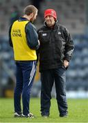 26 February 2017; Cork manager Peadar Healy, right, with selector Billy Sheehan after the Allianz Football League Division 2 Round 3 match between Cork and Fermanagh at Páirc Uí Rinn in Cork. Photo by Piaras Ó Mídheach/Sportsfile